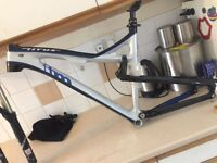 for sale titus ftm carbon fibre frame