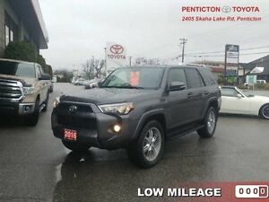2016 Toyota 4Runner SR5   - Low Mileage