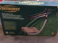 Yardworks Leaf blower/Vacuum 12A with extra bags $100