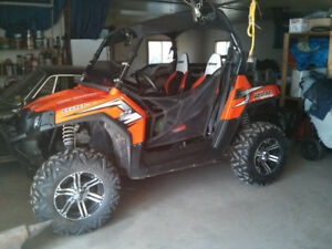 2011  POLARIS RZR, POWER STEERING