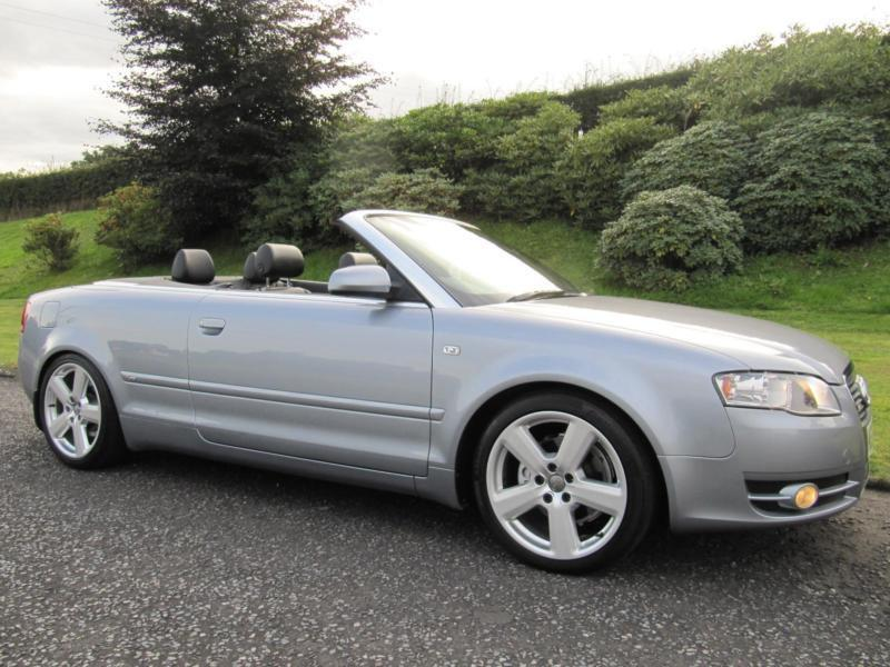 2006 Audi A4 Cabriolet 20tdi S Line In Banbridge County Down