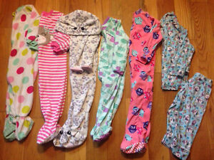 Girls sleepers and pjs