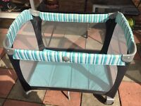 Graco travel cot