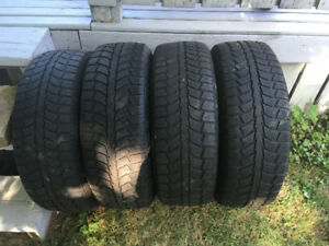 4 Tigerpaw Uniroyal Ice and Snow tires