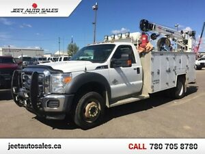 2012 Ford F-550 XLT MECHANICAL SERVICE TRUCK VMAC/CRANE/AIR TANK