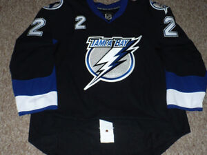 Tampa Bay Lightning Brewer 2010-11 Pro Issued Jersey Size 54