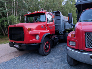 New mvi ready to work 1986 ford l8000