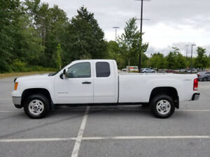 2011 GMC SIERRA 2500 HD SLE EXT CAB LONG BOX 4x4