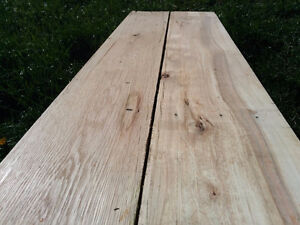 Oak and Poplar Reclaimed lumber