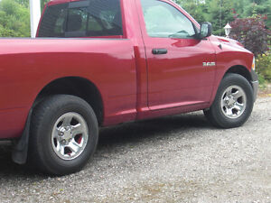 """Dodge Ram 17"""" Tires and Rims  265/70/17"""