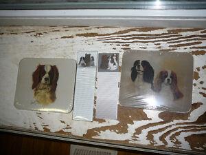Cavalier King Charles Spaniel mousepads, Cavalier notepad, angel