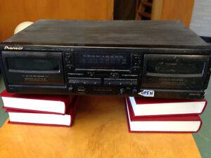 Pioneer Dual Cassette Deck Sarnia Sarnia Area image 1