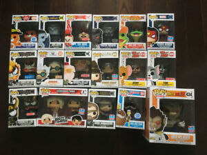 Various Funko POPs for sale
