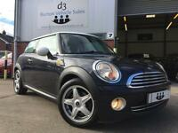 2007/57 Mini 1.6 120bhp Cooper Chili Pack Metallic Black White Roof HUGE SPEC!