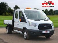 15 FORD Transit 350 2.2 TDCi 125ps L3 Long Wheel Base Double Cab Tipper DIESEL M