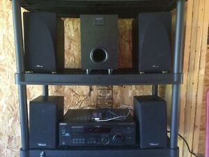 Complete Sony home entertainment system