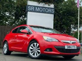 2014 Vauxhall Astra GTC 2.0 CDTi SRi Auto 3dr Coupe Diesel Automatic