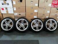 "19"" Genuine OEM Audi R8 V10 Alloy Wheels & Tyres"