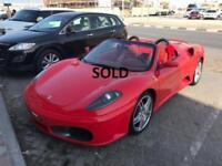 Ferrari F430 Spider F1 2007, 26000miles, fsh