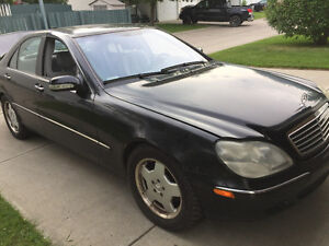2001 Mercedes-Benz S-Class S430 Sedan