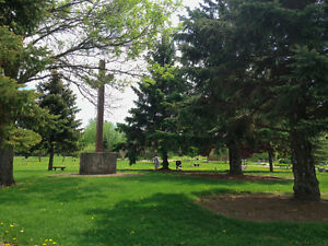 Funeral planning - 2 Burial Plots for Sale