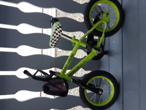 Boys bike  for 2 -3 year old with training wheels