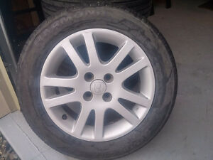 Honda Civic Tires and mags -- Pneus et jantes pour Honda Civic