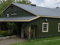 Barn Eavestroughs, Steel Siding & Barn Door Repairs