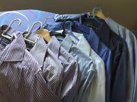 Various men's shirts 18 inch collar