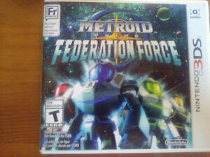 Metroid Prime: Federation force 3ds - Pas cher!!