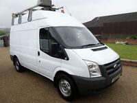 2010 Ford Transit T350 115 Workshop Van, Air Conditioning, Internal Racking, MWB