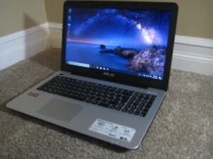 "15.6"" Asus Laptop, AMD A10, 12GB RAM, 1TB HDD, DVD Drive"