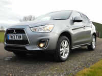 2013 Mitsubishi ASX 1.6 3 5 DOOR SUV ESTATE PETROL**VERY LOW MILES**FSH