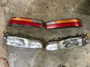 1990-93 Acura integra headlights/taillights