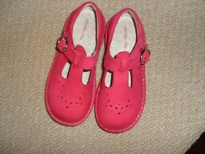 Stride Rite -Dark Pink Leather Size 12 Cambridge Kitchener Area image 1