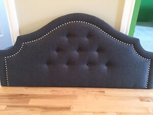 DOUBLE BED padded headboard - NEW