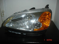 Honda civic 2001-2003 Headlight / Phare et installation