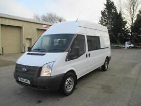 2014 Ford Transit 2.2TDCi 125PS euro 5 RWD 350 LWB sld pas 1 owner diesel 9 seat