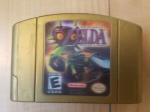 Zelda Majora's mask N64 hologram label