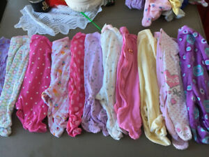 Baby girl lot size 0-3 months