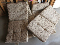 Patio chair pads