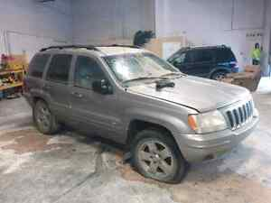 2001 Jeep Grand Cherokee For Parts v8