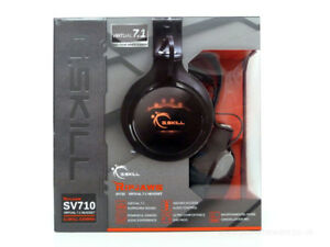G.SKILL RIPJAWS SV710 Dolby 7.1 USB Gaming Headset BNIB