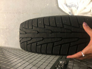 4 WINTER TIRES 175/65R15 88R