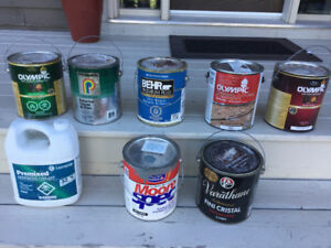 Paint cans and more