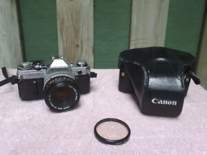 Canon ae-1 Camera with Canon 50mm F1.8 FD lens