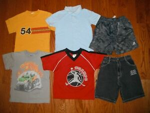 boy 5T Summer clothes -- oshkosh, old navy