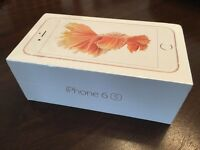 iPhone 6S Rose Gold Brand New Sealed 64GB
