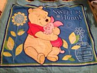 Pooh baby quilt- southwood