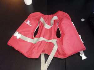 Baby / infant life jacket (red)